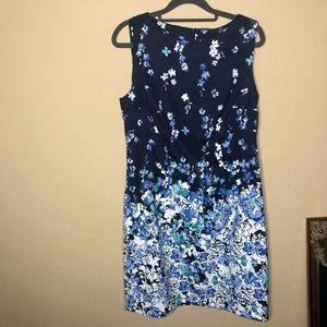 Alyx Floral Shift Career Dress Size 12